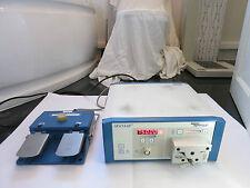 AESCULAP GD-650 Chirurgici CE velocità MICRO Trapano CHIRURGIA Pedale Unità Motore Pompa