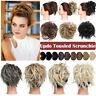 Real Thick Messy Bun Hair Piece Scrunchie Natural Hair Extension For Human 45g