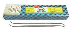 8 Grobet Swiss Vallorbe Präzisions Riffelfeilen L=170 SH-4 Nr.12881 Neu H16245