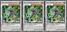 PSY-Framelord Omega x 3 - Handmade Yugioh Custom Cards Proxy - Orica Playset