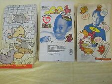 Lot of Ty Mc Donalds Lunch bags 1997 and 1998