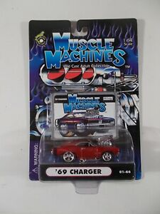 Muscle Machines 1/64 '69 Charger 01-66
