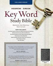 HEBREW-GREEK KEY WORD STUDY BIBLE - NEW PAPERBACK BOOK