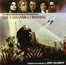 THE CASSANDRA CROSSING CD Jerry Goldsmith SOLD OUT SOUNDTRACK