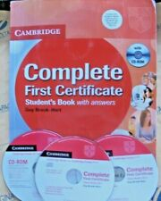COMPLETE FIRST CERTIFICATE STUDENT' S BOOK with ANSWERS con  3 Cd - CAMBRIDGE