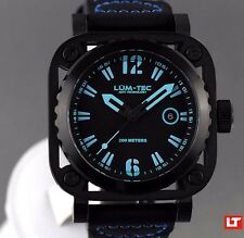 LUM-TEC DIVER G6 NEW + GIFT MEN'S WATCH AUTHORIZED DEALER FREE SHIPPING - VIDEO