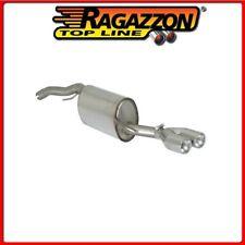 50.0227.26#1 FIAT BRAVO II (TYP198) 2007>>2014  SCARICO SPORTIVO INOX CON TERMIN