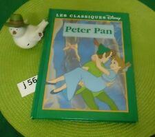 Livre PETER PAN LES CLASSIQUES DISNEY NEUF