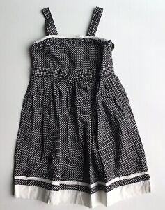Girls Janie and Jack Polka Dot Dress size 5