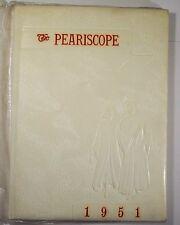 1951 Pearisburg High School Peariscope Yearbook Pearisburg VA Giles County