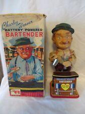 Vintage 1960's Charley Charlie Weaver Battery Powered Bartender in Box