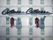 "1968 1969 Olds ""Cutlass S"" Chrome Front Fender Scripts & Emblems Kit w/ Hardware (Fits: Oldsmobile)"