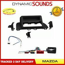Simple Din Stéréo Façade Direction Antenne Kit non Bose Amplifié pour Mazda 3