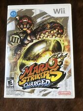 Mario Strikers Charged (Nintendo Wii, 2007) Complete game