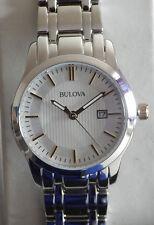 BULOVA DONNA 98m121 ACCIAIO INOX Multi Link braccialetto Dress Watch-NEW