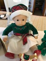 AMERICAN GIRL BITTY BABY CHRISTMAS INCLUDES  DOLL, CLOTHES AND ACCESSORIES