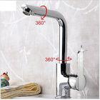 Mod Chrome Waterfall Bathroom Basin Faucet Single Handle Sink Mixer Tap One Hole