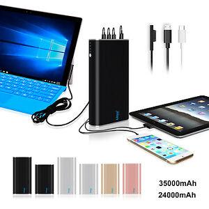 Lizone Surface Pro Laptop Go Book 2 Portable Charger External Battery Power Bank
