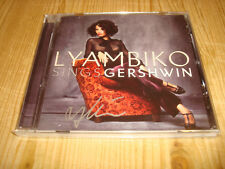 LYAMBIKO Sings Gershwin SONY CLASSICAL CD NEW Signed NEU Signiert