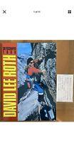 David Lee Roth - Japan Tour 1988 Tour Book w/Ticket Stub Van Halen