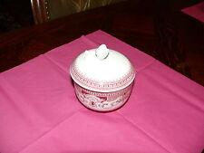 Hutschenreuther Windsor Rot  Porzellan  Zuckerdose