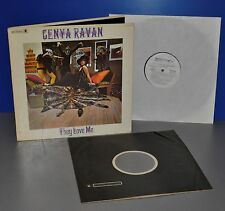 Genya Ravan - They love me USA White label PROMO '73 1st press plays perfect LP
