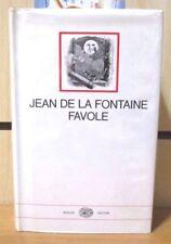 La Fontaine FAVOLE versione De Marchi 62 incisioni Grandville I Millenni Einaudi