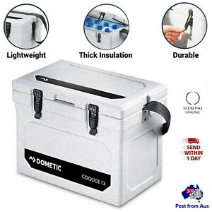 Cool Ice Box Cooler w/ Handle Latches Camping Picnic AU Fishing Dometic 13L