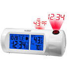T83721 La Crosse Technology Atomic Projection Alarm Clock USB Port with TX141-B
