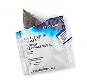 FRESH STOCK Starbucks Teavana - Royal English Breakfast Tea - 300 Sachets No Box