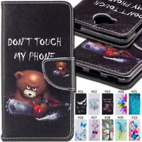For Huawei Y5 (2017)/Y6(2017) Wallet Card Slot Flip Stand PU Leather Case Cover