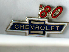 1980 Chevrolet Pin Badge Chevy Auto Pins lapel Hat Tack