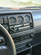 VDO 52mm LHD Gauge panel for radio slot VW GOLF MK2 JETTA GTI 16V G60