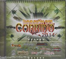Invasion Del Corrido 2014 CD NEW Javier Rosas - Calibre 50 - Codigo FN - y MAS