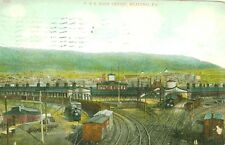 Reading,PA.  A 1913 View of the P.& R. Main Depot