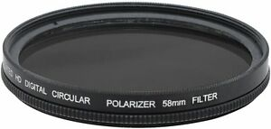 Multi-Coated Pro Hi Def Polarizer Filter For Canon EOS Rebel SL3