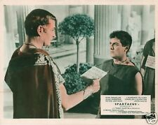 Spartacus lobby card print - Tony Curtis , Stanley Kubrick, Laurence Olivier