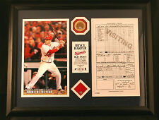 Bryce Harper Debut Game 2012 MLB Authenticated Game Memorabilia Limited Ed #26