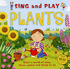 Sing and Play: All About Plants (Firm Foundations)-ExLibrary