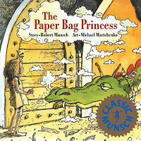 The Paper Bag Princess by Robert Munsch (Paperback) FREE Shipping $35