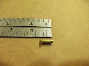 """7/16"""" Solid Brass Tubular Rivets (Pack Of 250)"""