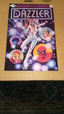 DAZZLER #1 ia 1981 DC comic 1st issue.