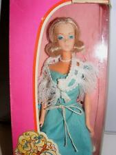 1976 DELUXE QUICK CURL BARBIE DOLL VINTAGE NEW w BOX Platinum Blonde in BOX