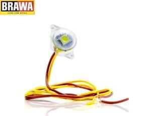 Brawa 94700 Beleuchtungssockel warmweiß mit LED (1 Stück) - NEU + OVP