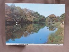 Vintage Colour JUDGES Postcard Of Connaught Water, EPPING FOREST , Essex.