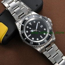 42mm Parnis Sterile Dial Lume Mark Stainless Steel Bracelet Automatic Watches 01