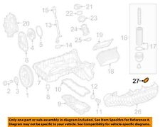 MERCEDES OEM 16-18 G550 Engine-Intake Manifold Seal 1771410180