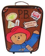Paddington Bear 18 School Travel Trolley Roller Wheeled Bag Gift