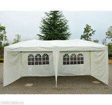 Outsunny 10ftX20ft Pop Up Tent 4 Sidewalls Window Outdoor Patio Canopy