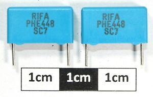 RIFA PHE448 Film Capacitor 330pF 2000V 5% (Pack of 2)
